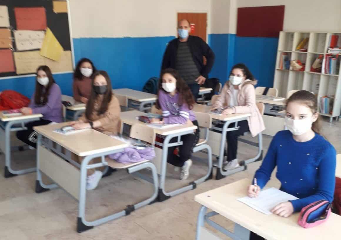 Ortaokulu öğrencilerine e Twinning Projesi desteği