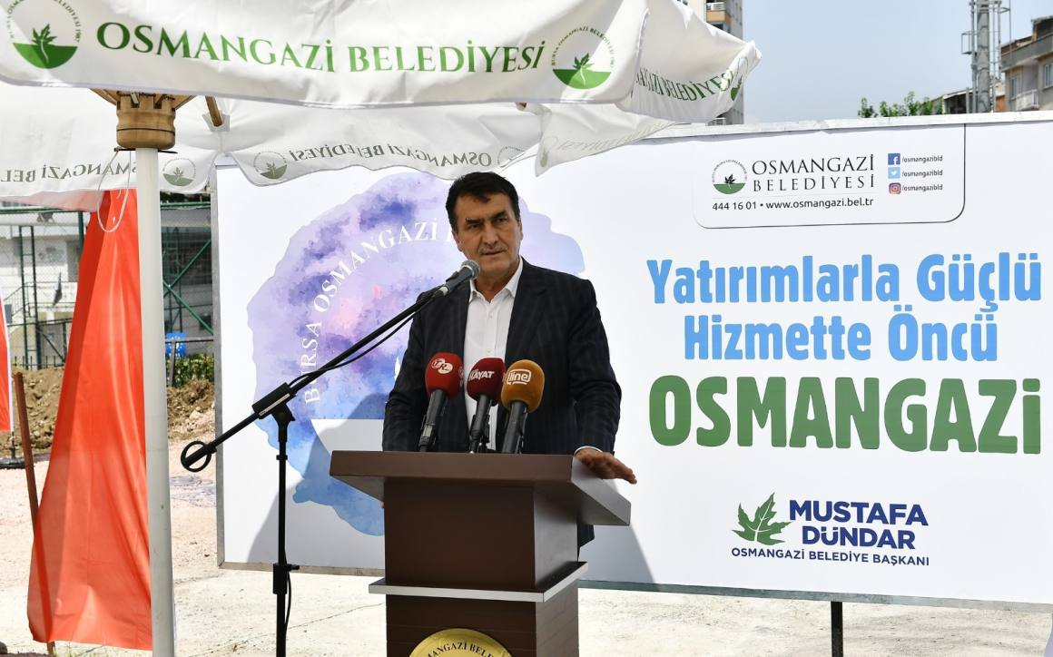 Osmangazi'den her mahalleye hizmet