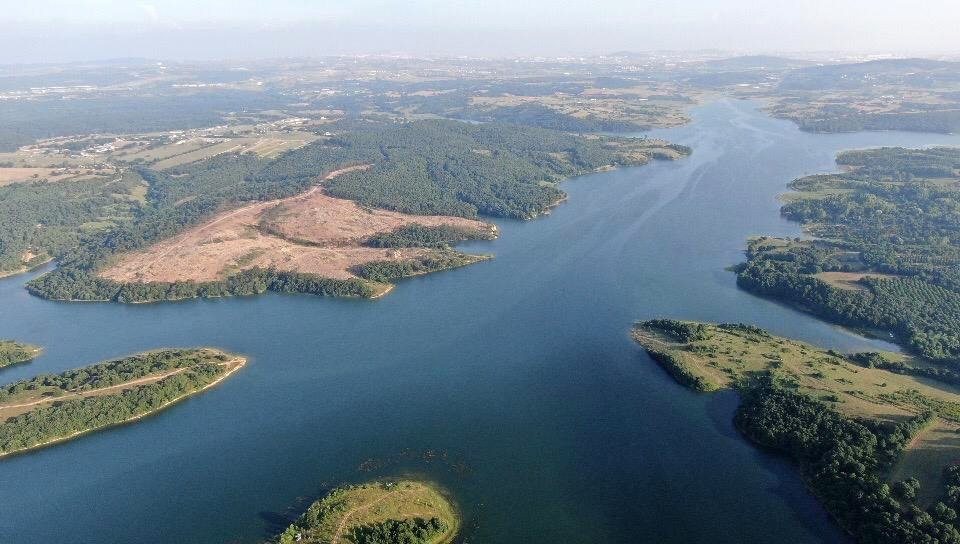 (Özel) İstanbul  Barajlarında doluluk oranı azalmaya başladı