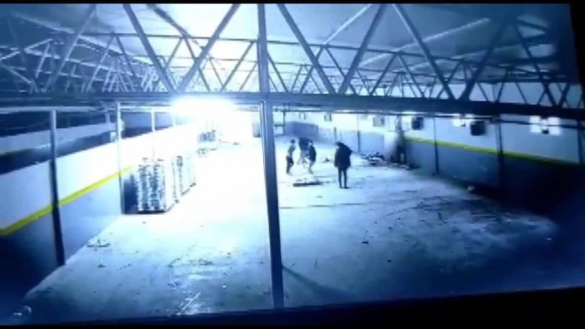 (Özel) Sancaktepe'de fabrikanın elektrik panosu bomba gibi patladı