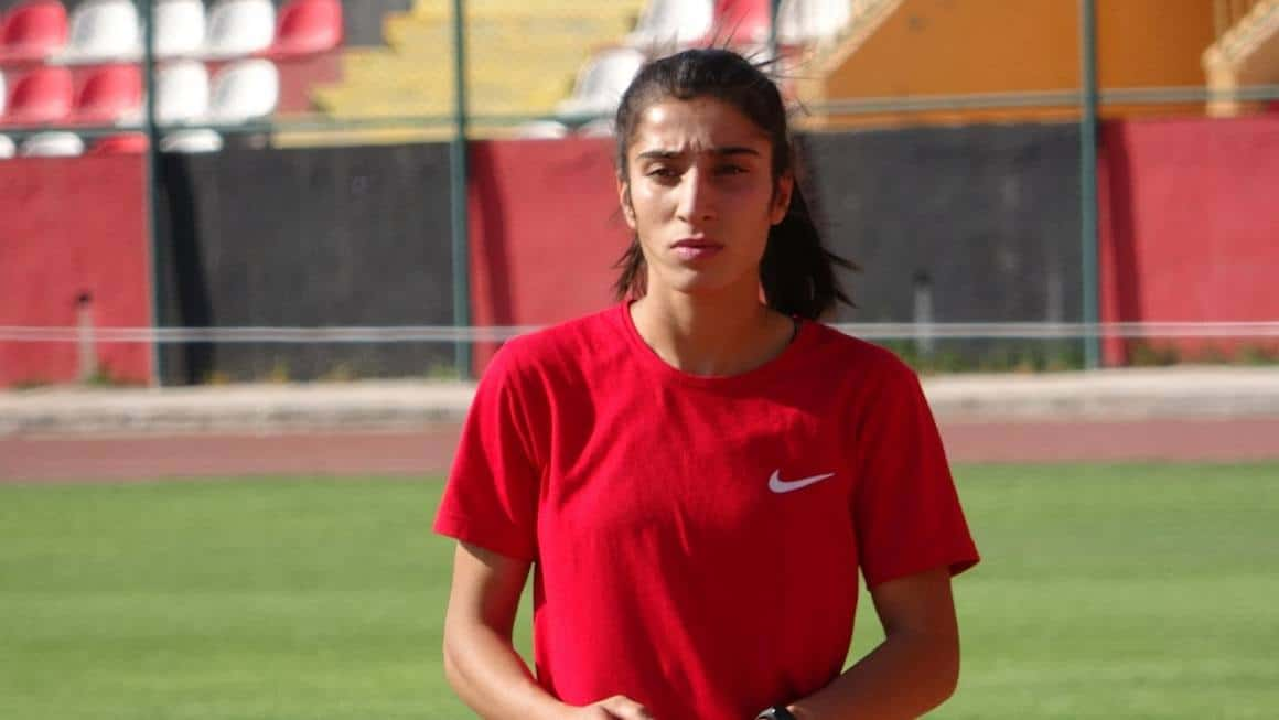 (Özel haber) Türkiye rekortmeni milli sporcu Nevin İnce Avrupa Şampiyonası'na hazır