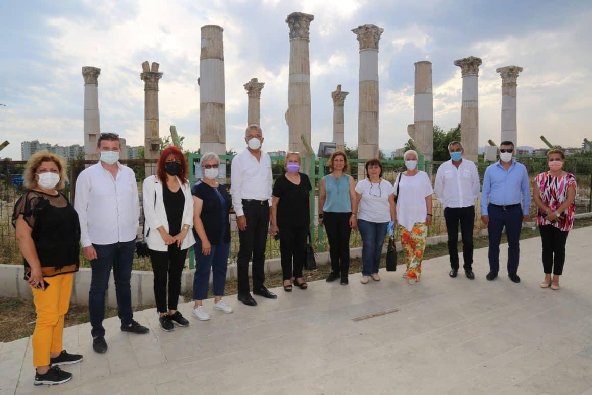Projeleri görmek için Karadeniz'den Mersin'e geldiler
