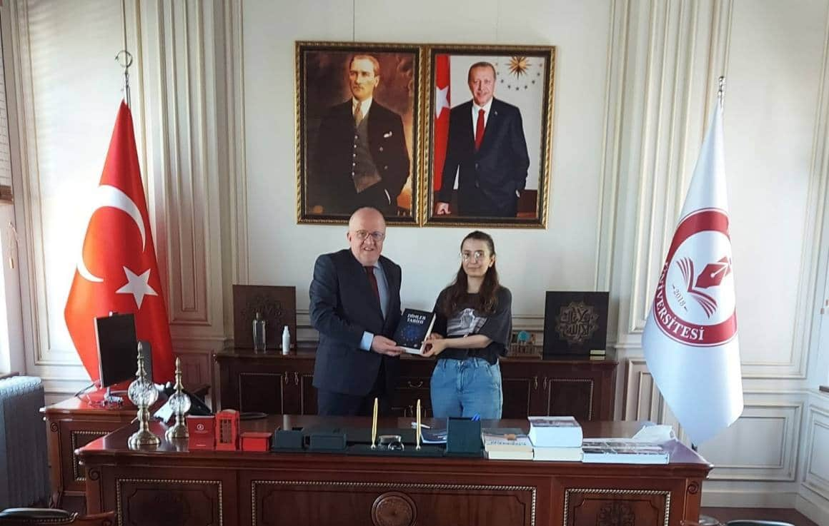 SAMÜ mezunu Rabia'nın ABD'ye doktora yolculuğu