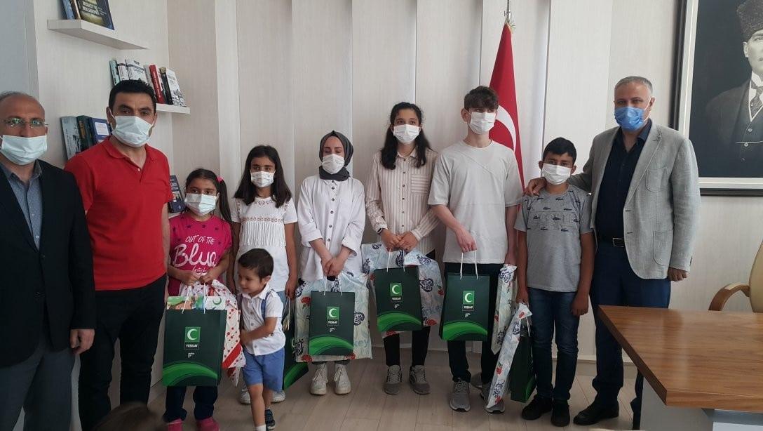 'Sağlıklı Nesil Sağlıklı Gelecek' yarışması birincileri ödüllerini aldı