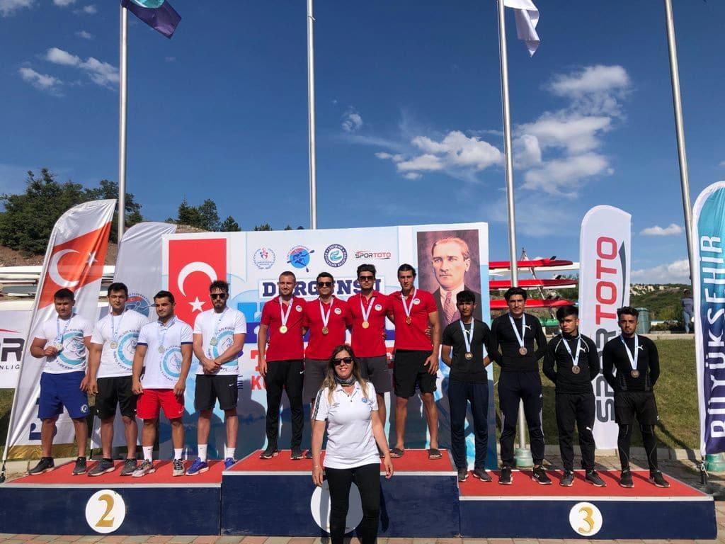 Sakaryalı kanocular Eskişehir'de tarih yazdı