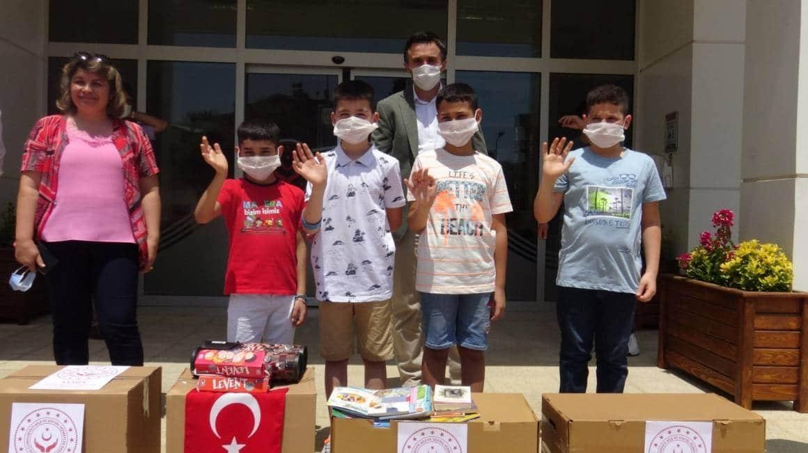 Sevgi çocuklarından Şırnak'a sevgi dolu bağış
