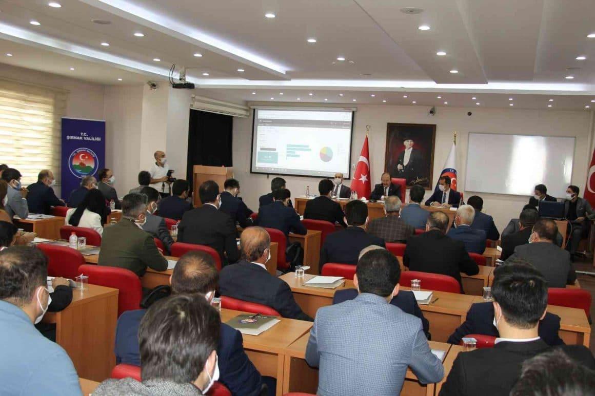 Şırnak'ta 414 projeye 7 milyar 322 milyon 942 bin lira harcandı