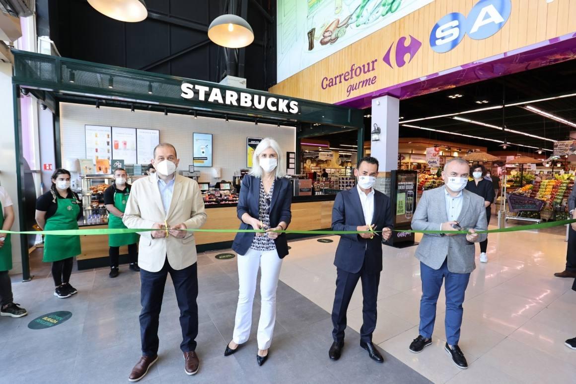 Starbucks, şimdi CarrefourSA marketlerinde