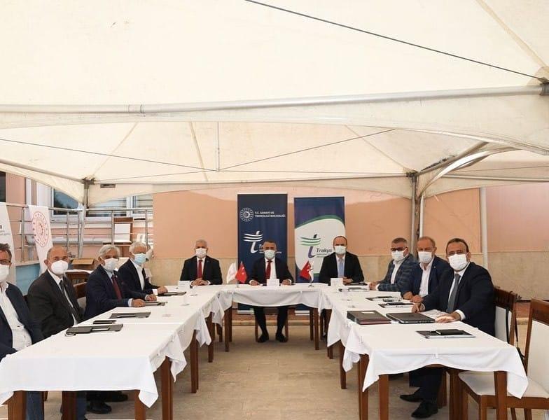 TRAKYAKA Yönetim Kurulu Kırklareli'nde toplandı
