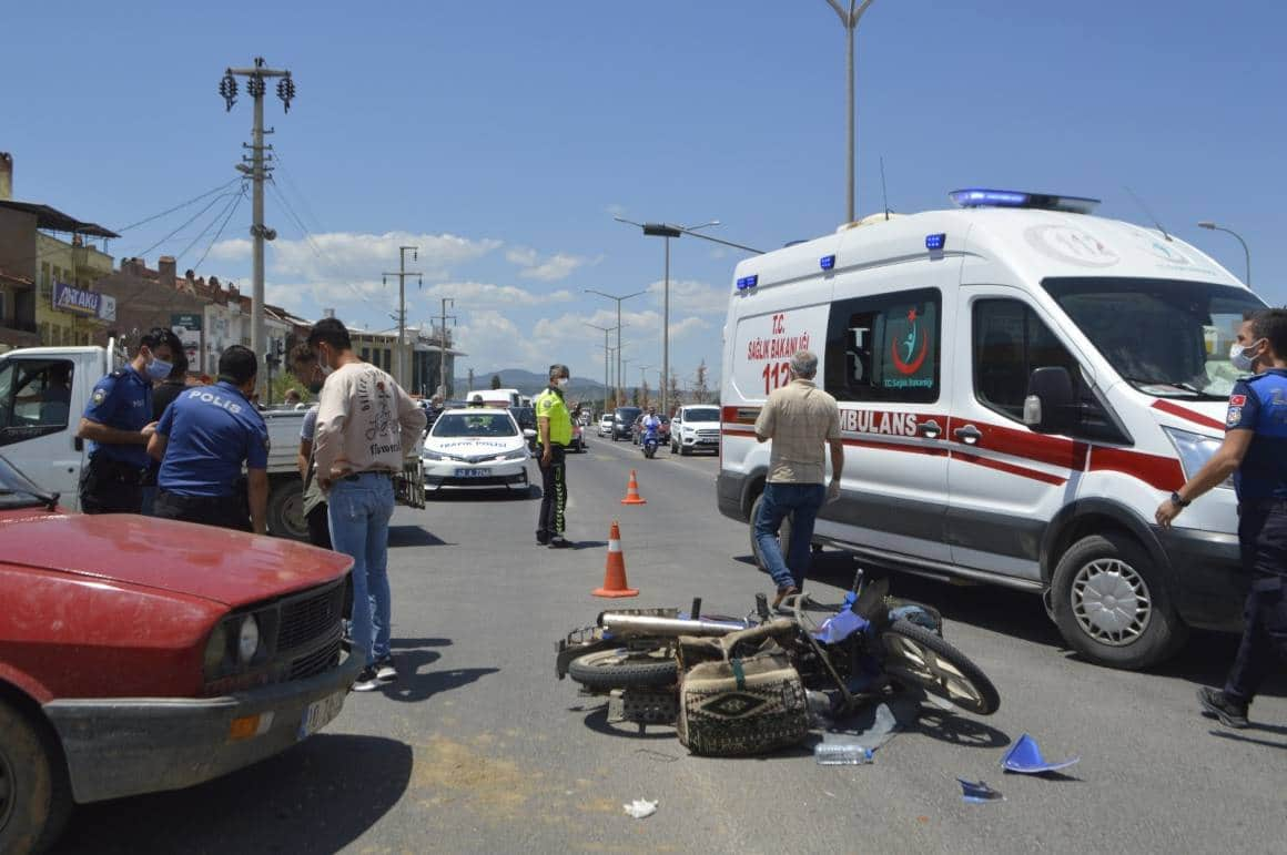 Tavşanlı'da trafik kazası: 1 kişi öldü