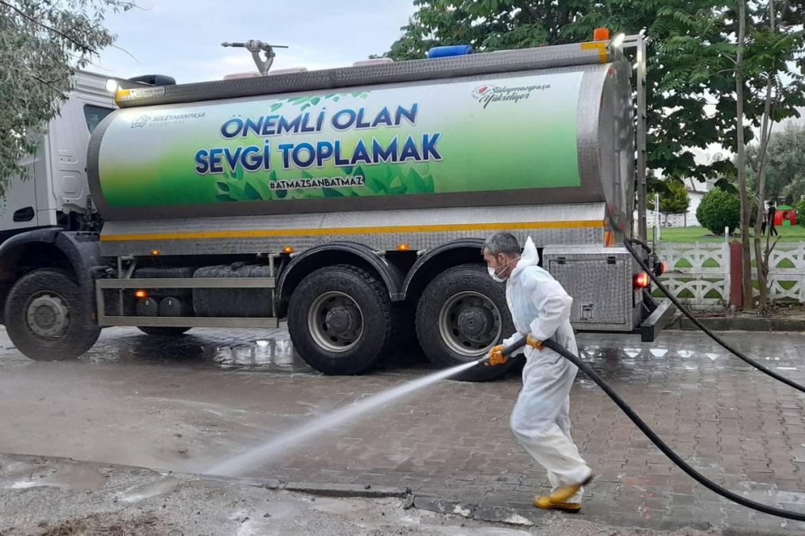 Tekirdağ'da salgın mücadelesi sürüyor