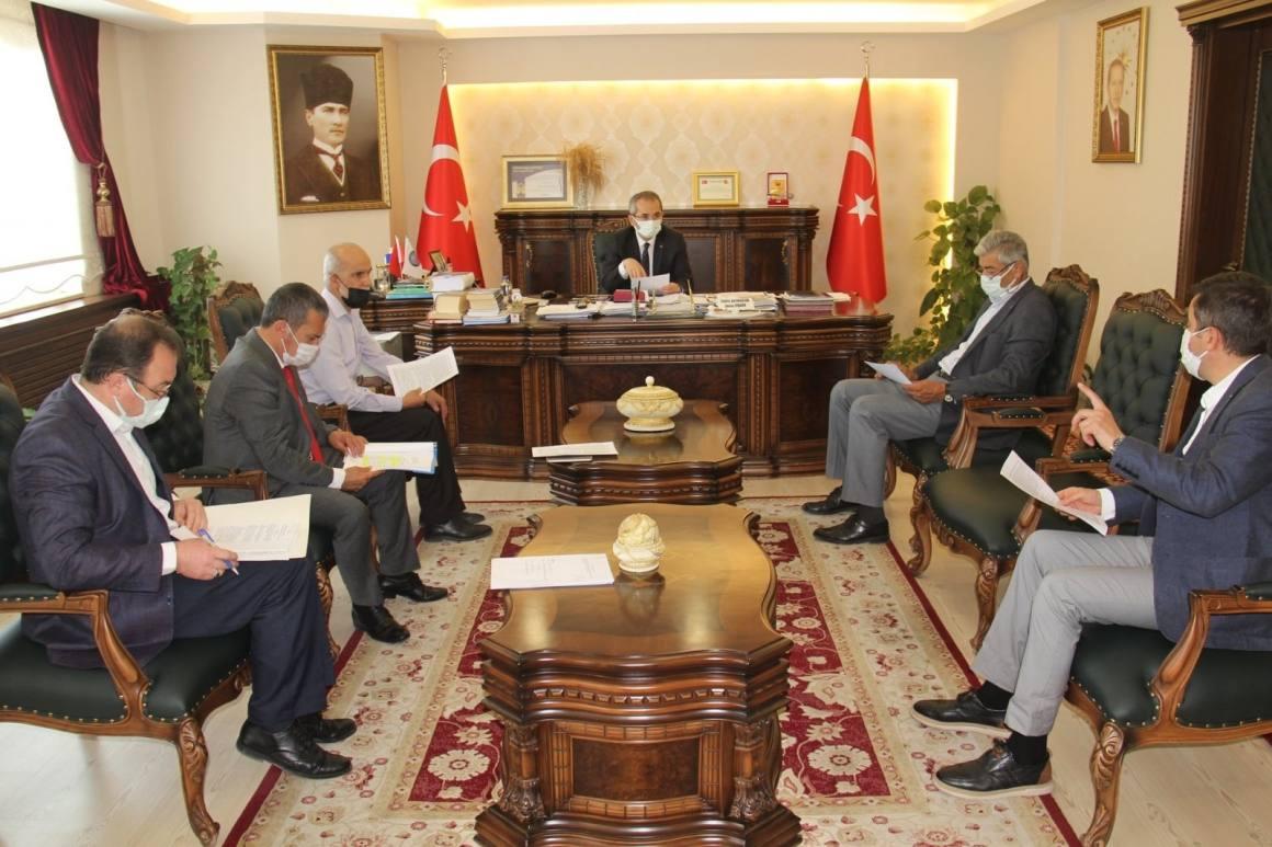 Tosya'da kurban tedbirleri toplantısı yapıldı