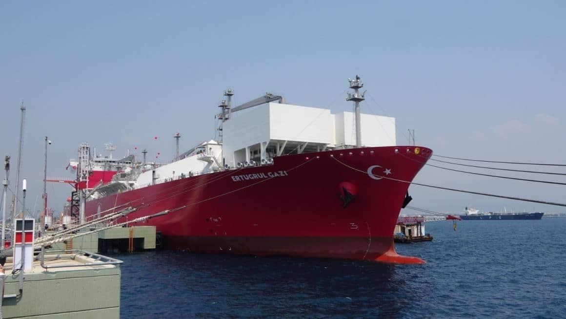 Türkiye'de bir ilk… FSRU gemisi Ertuğrul Gazi devreye alınıyor