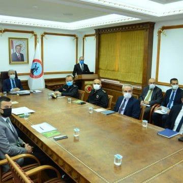 Üniversite Güvenlik Tedbirleri Koordinasyon Toplantısı Yapıldı