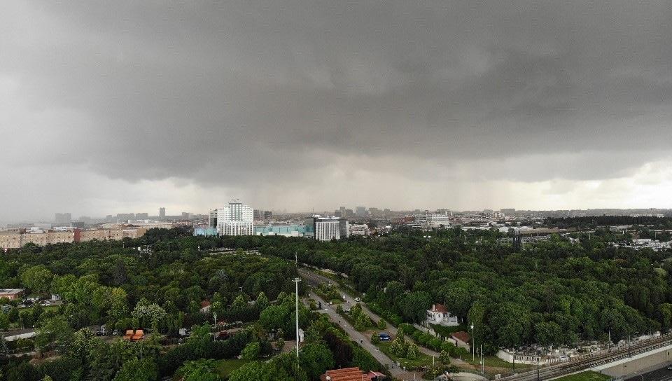 Yağmur bulutları böyle geldi