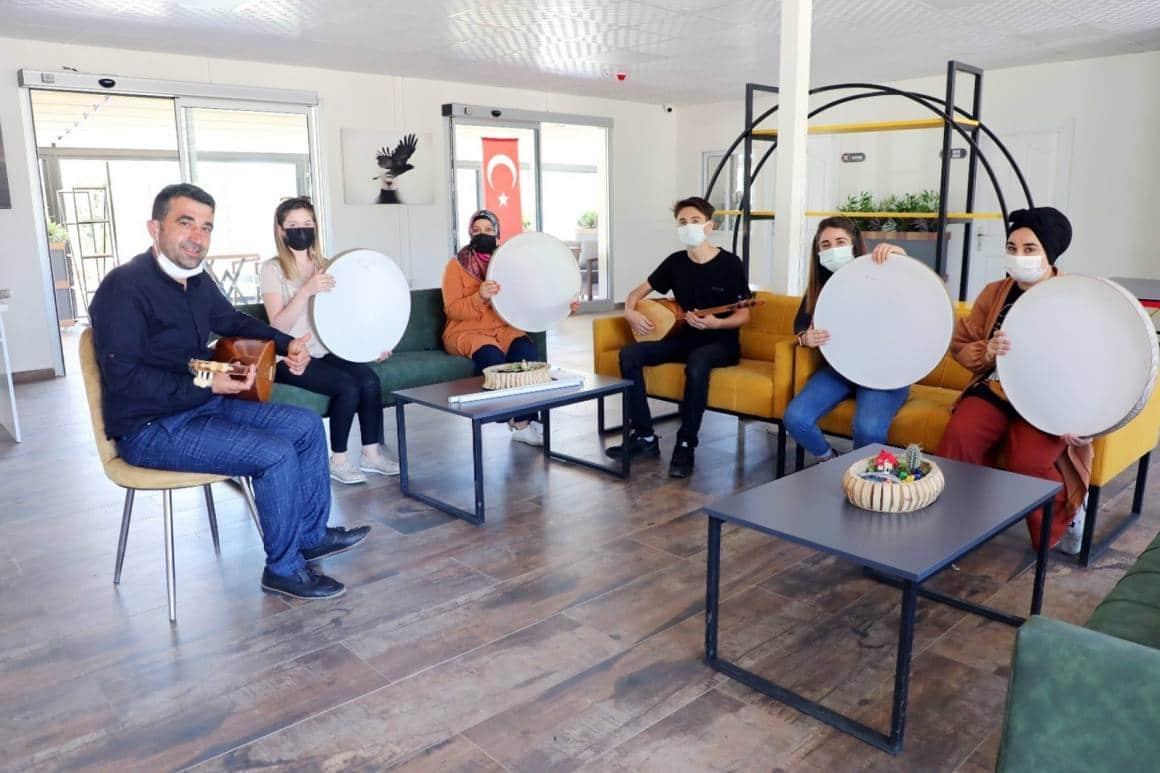 Yenişehir Belediyesinin engelsiz yaşam merkezlerine yoğun ilgi