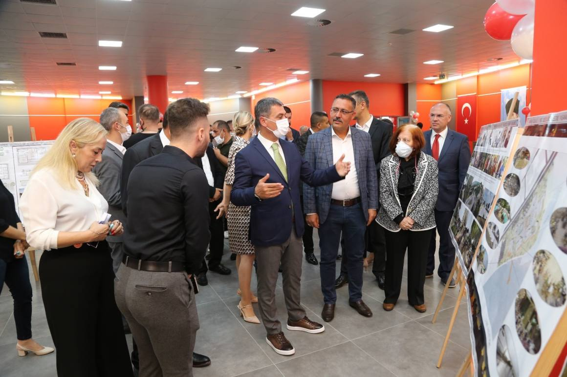Zübeyde Hanım Kültür Merkezi 'Ekoköy' temalı sergiyi sanatseverler ile buluşturuyor
